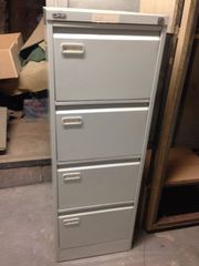 Filing Cabinets x 2